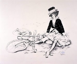 crashed_bicycle_and_lady-d